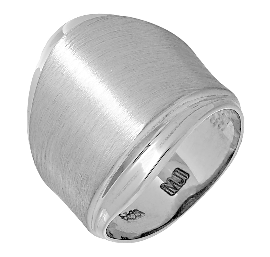 Image 477041_RHP.jpg , Product 477-041 / Price $114.99 , Silver Gallery Sterling Silver Textured Wave Ring from Silver Gallery on TSC.ca's Jewellery department