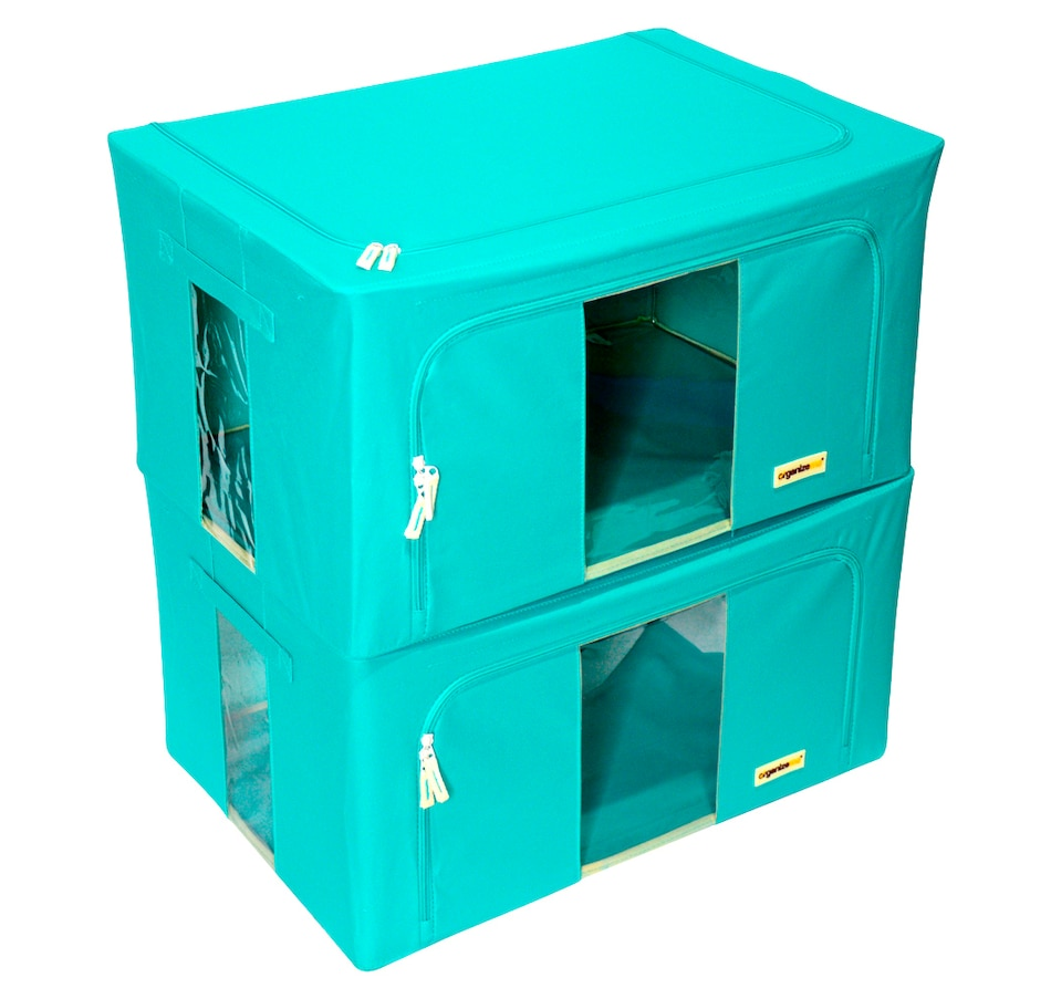 Image 477454_TLE.jpg , Product 477-454 / Price $59.99 , OrganizeMe Large Storage Cases (2-Pack) from Organizeme on TSC.ca's Home & Garden department