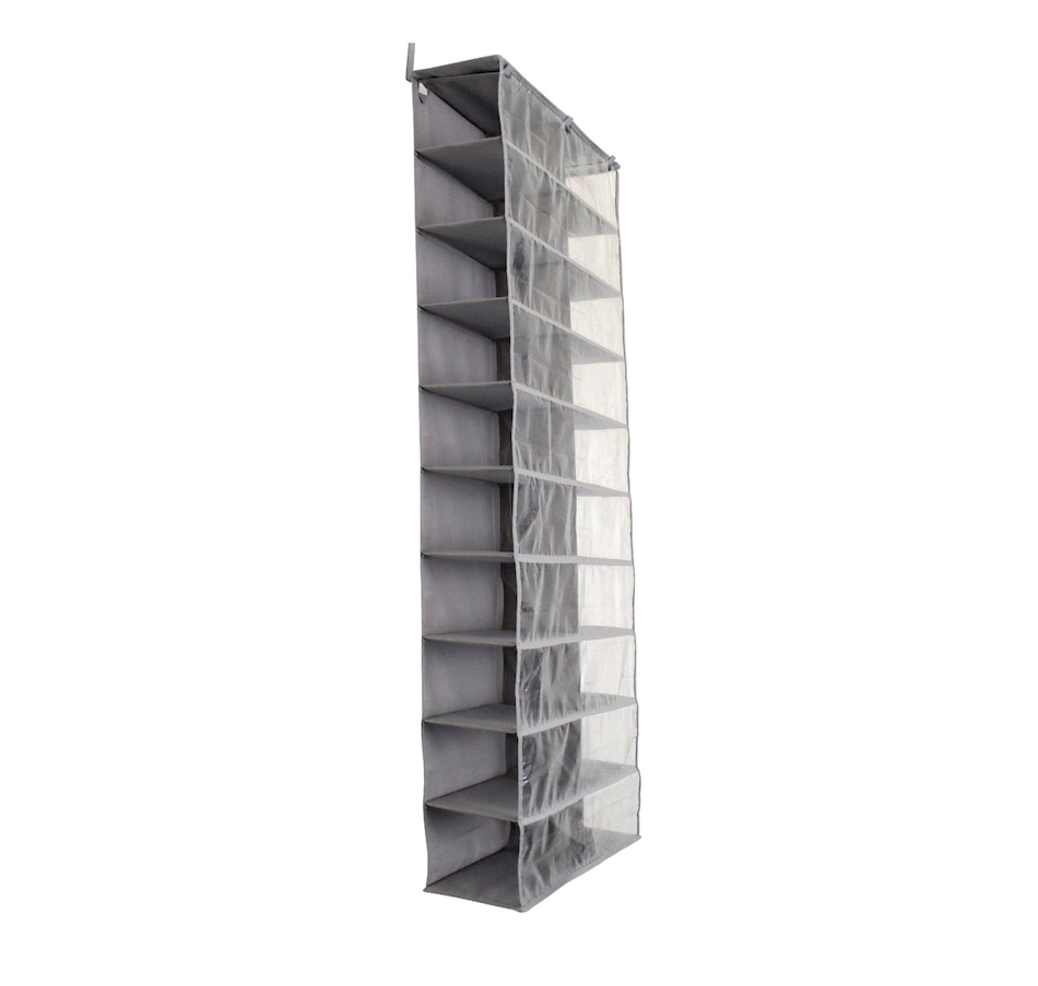 Image 477455_GRY.jpg , Product 477-455 / Price $49.99 , OrganizeMe Over-the-Door Shoe Organizer from Organizeme on TSC.ca's Home & Garden department