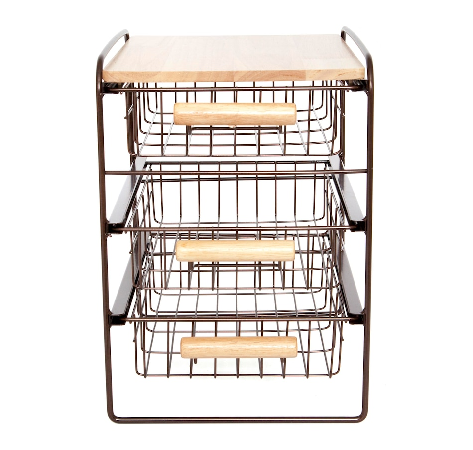 Image 477473_BRN.jpg , Product 477-473 / Price $54.99 , Origami Countertop Organizer from Origami Rack on TSC.ca's Home & Garden department