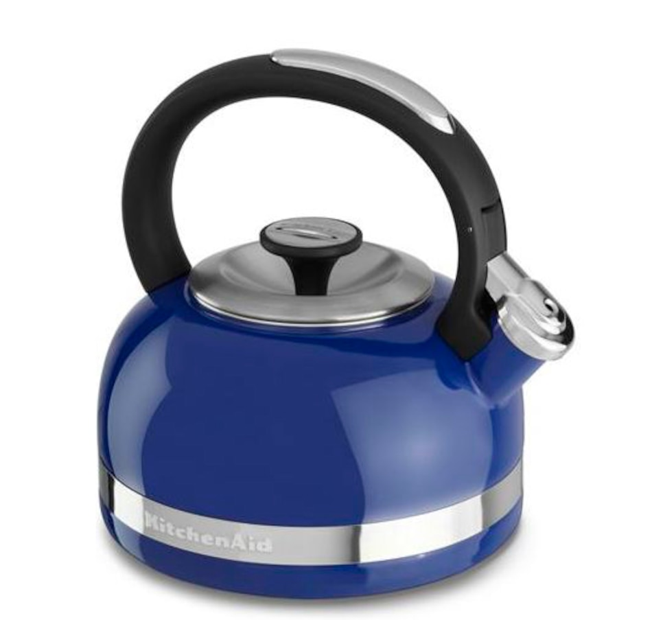 Image 477529_DTBLU.jpg , Product 477-529 / Price $49.99 , KitchenAid 2.0-Quart Kettle with Full Handle and Trim Band from KitchenAid on TSC.ca's Kitchen department