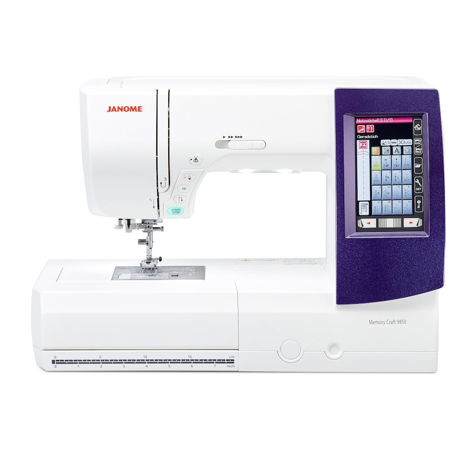 Image 477531.jpg , Product 477-531 / Price $3,499.00 , Janome Memory Craft 9850 from Janome on TSC.ca's Home & Garden department