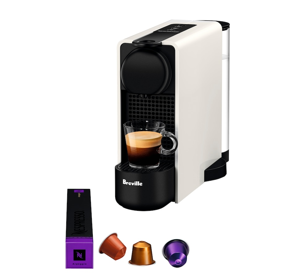 Image 477552_WHT.jpg , Product 477-552 / Price $249.00 , Nespresso Essenza Plus Coffee Machine by Breville from Nespresso on TSC.ca's Kitchen department