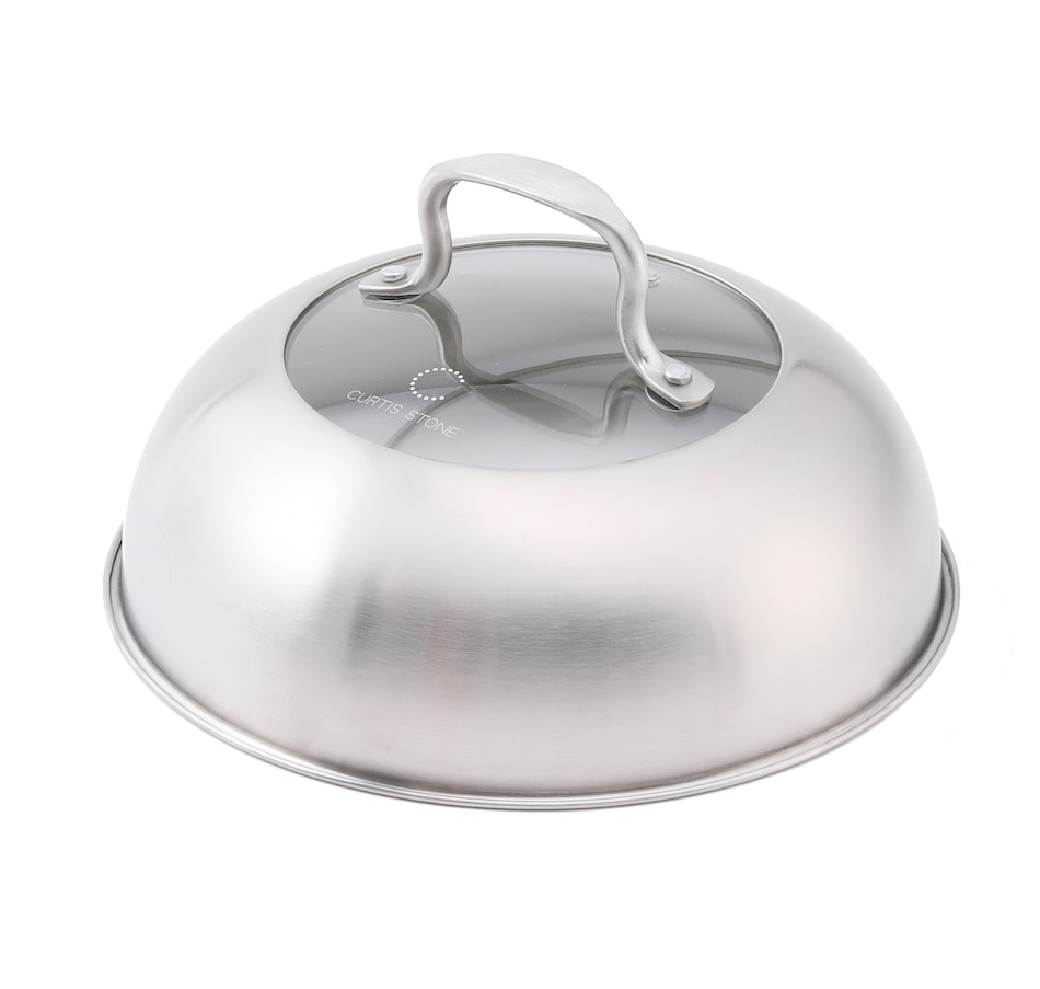 Image 477599.jpg , Product 477-599 / Price $24.99 , Curtis Stone Stainless Steel Food Cover Cloche from Curtis Stone on TSC.ca's Kitchen department