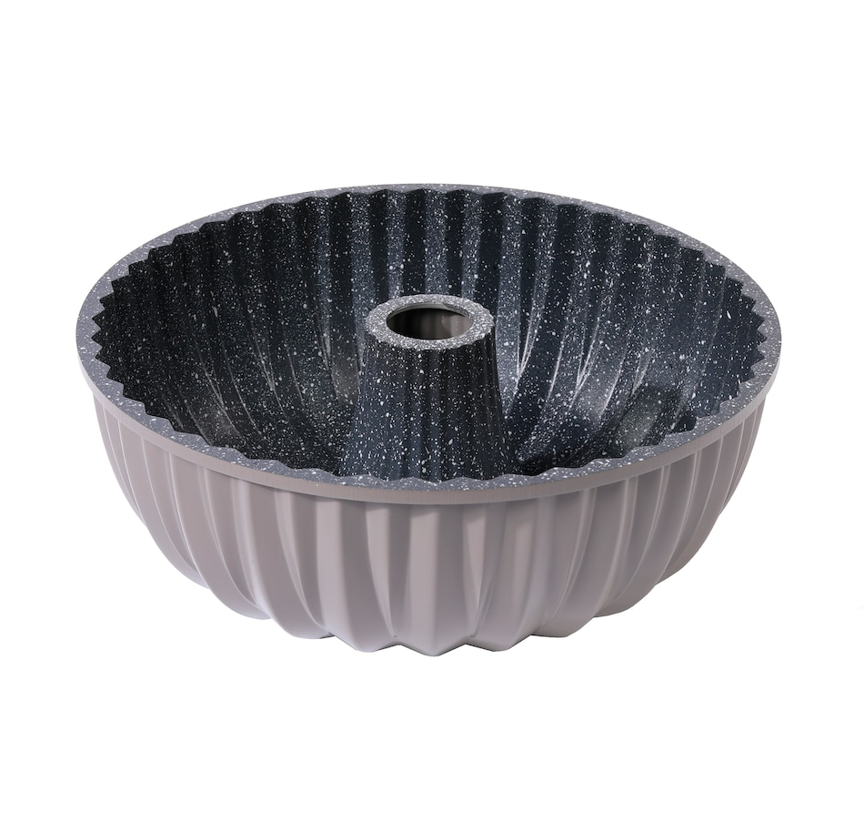 Image 477604_GRY.jpg , Product 477-604 / Price $29.99 , Curtis Stone Fluted Tube Cake Pan from Curtis Stone on TSC.ca's Kitchen department
