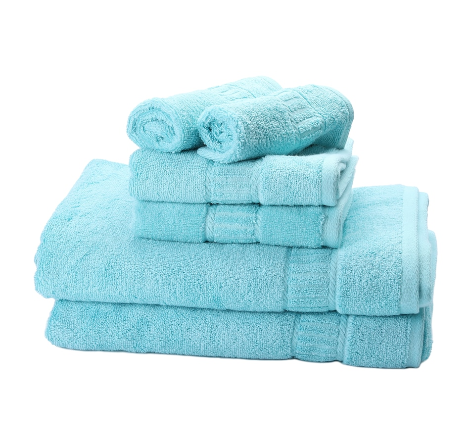 Image 477608_BLU.jpg , Product 477-608 / Price $149.99 , MyPillow Cotton 6-Piece Towel Set from MyPillow on TSC.ca's Home & Garden department