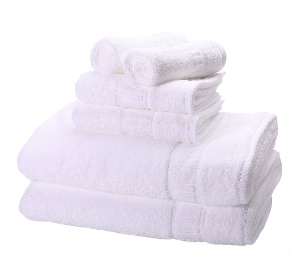 Image 477608_WHT.jpg , Product 477-608 / Price $149.99 , MyPillow Cotton 6-Piece Towel Set from MyPillow on TSC.ca's Home & Garden department