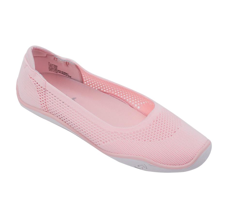 Image 477694_BUH.jpg , Product 477-694 / Price $29.88 , Tony Little Cheeks Barefoot Ballerina Flat from Tony Little on TSC.ca's Shoes & Handbags department