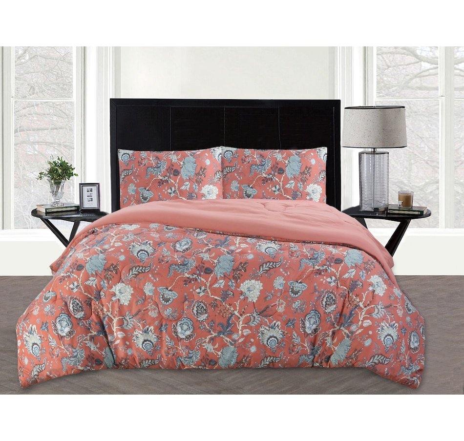 Image 477696_CRL.jpg , Product 477-696 / Price $89.99 , St. Clair Down Alternative Reversible Comforter Set from St. Clair Bedding on TSC.ca's Home & Garden department