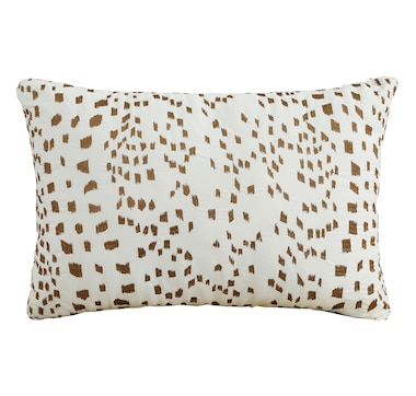 """St. Clair Embroidered Pillow (14"""" x 20"""")"""