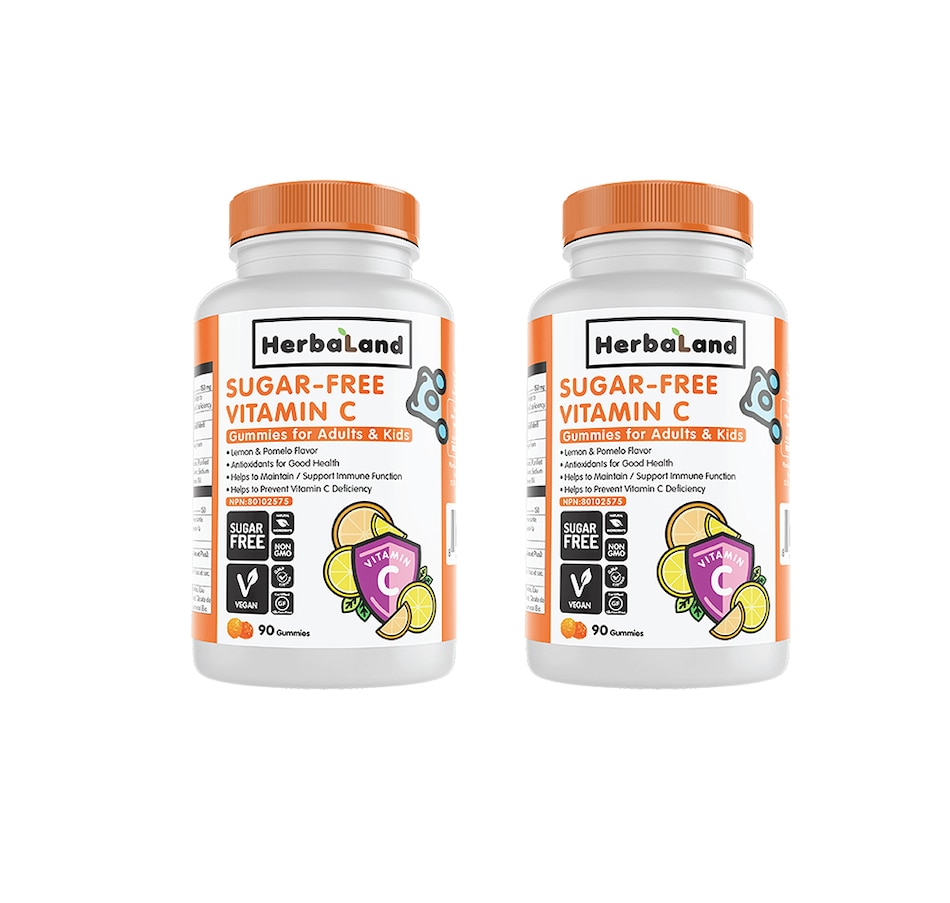 Image 477996.jpg , Product 477-996 / Price $27.00 , Herbaland Sugar-Free Vitamin C Duo (90-Day Auto Delivery) from Herbaland Naturals on TSC.ca's Health & Fitness department