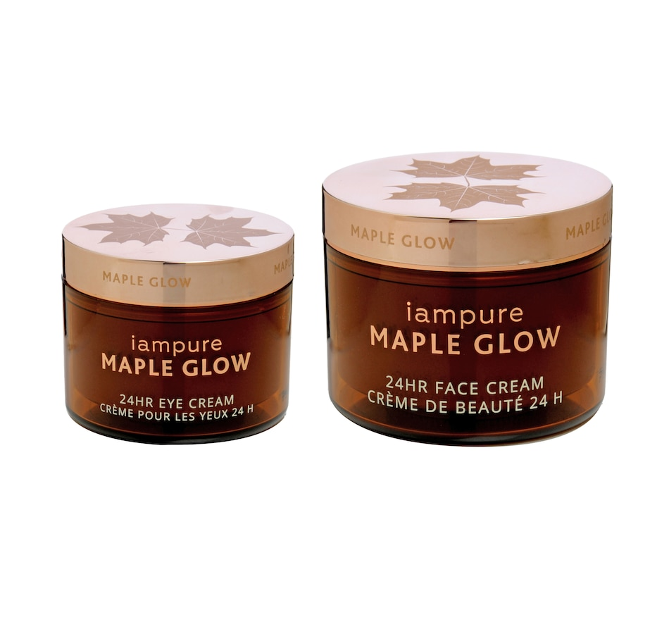 Image 478165.jpg , Product 478-165 / Price $82.00 , iampure Maple Glow 24-Hour Beauty 2-Piece Set from iampure Skin Care on TSC.ca's Beauty department