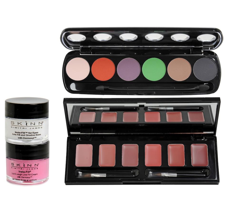 Buy Skinn Insta Fill Eye Hollywood Lip Palette 4 Piece St Beauty