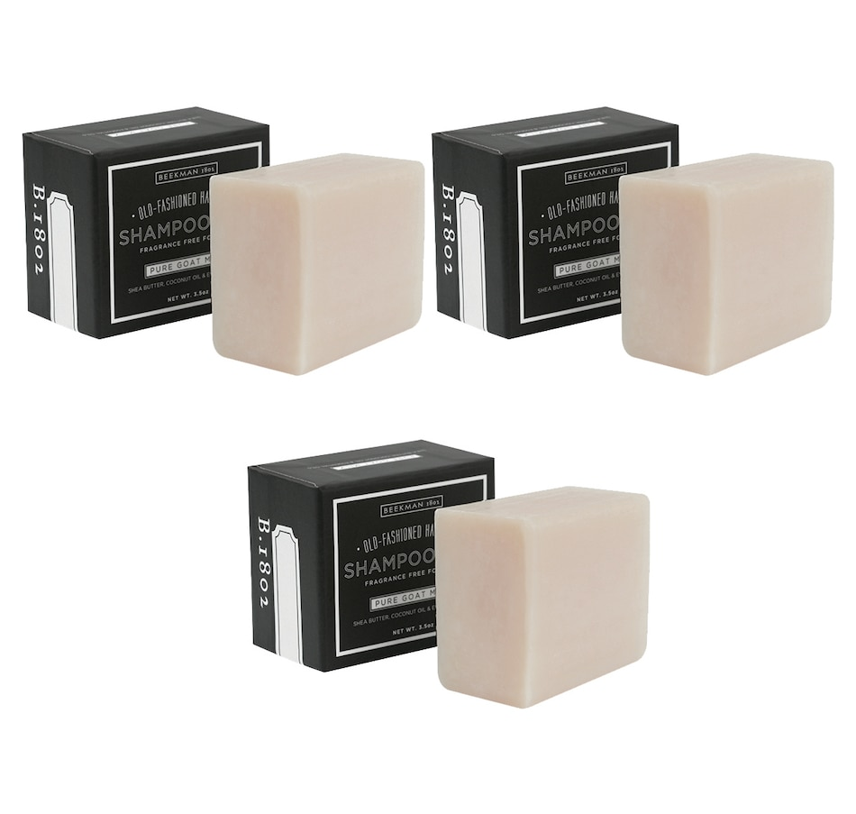 Image 479662_PURMK.jpg , Product 479-662 / Price $48.00 , Beekman 1802 3-piece Pure Goat Milk Shampoo Bar from Beekman 1802 on TSC.ca's Beauty department