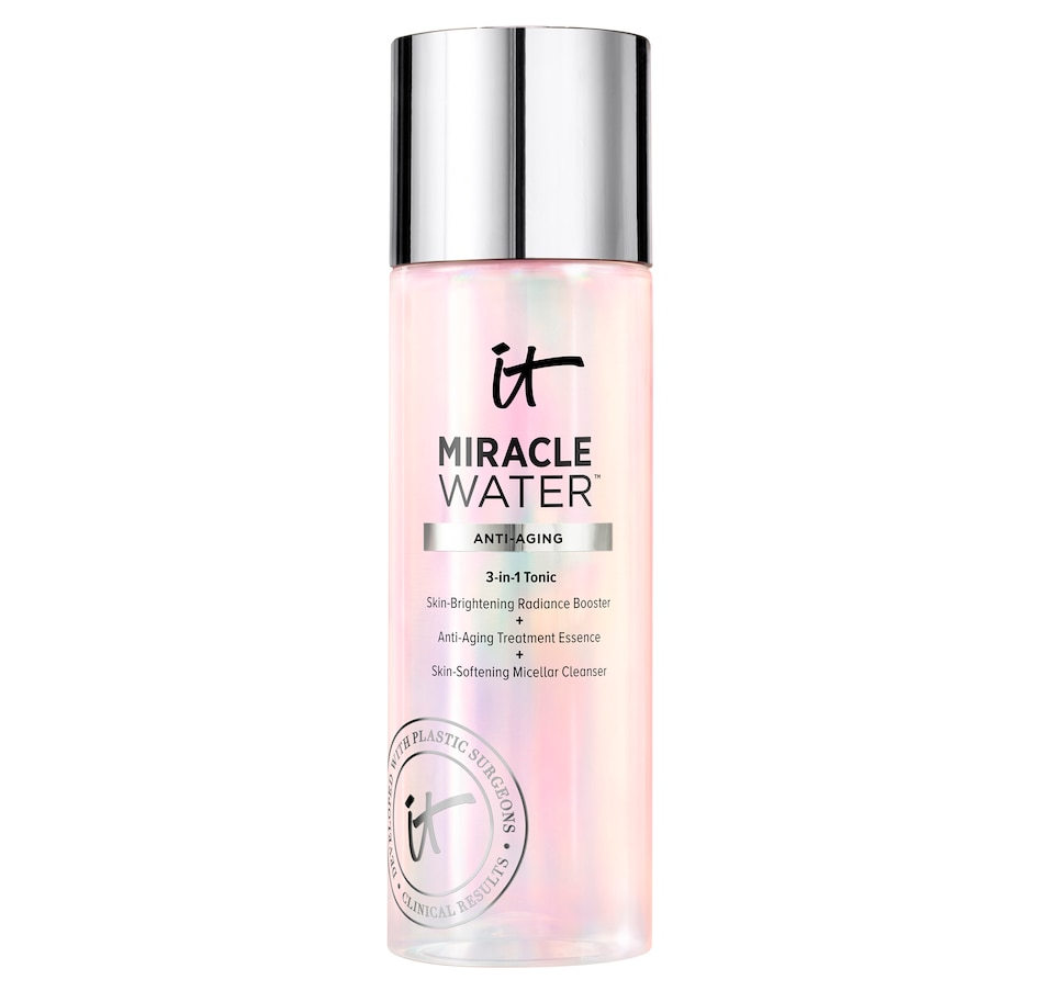 Image 480325.jpg , Product 480-325 / Price $50.00 , IT Cosmetics Miracle Water 3-in-1 Toning Micellar Cleanser from Face on TSC.ca's Beauty department