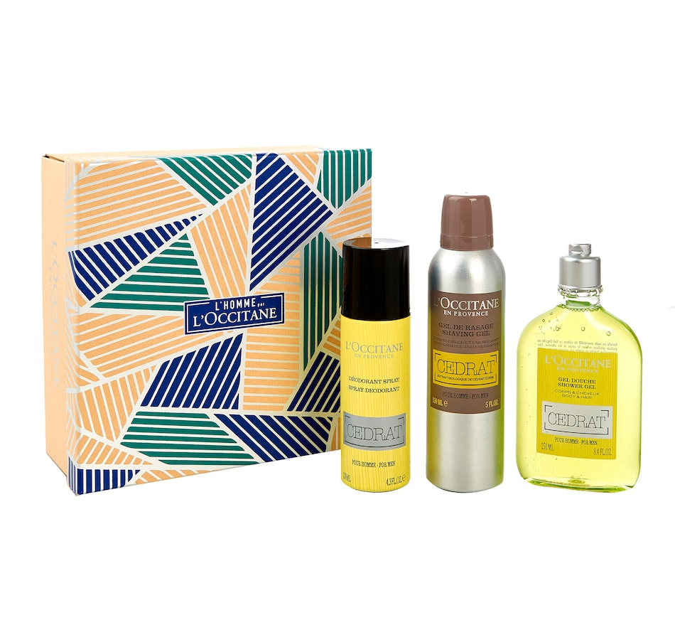 Image 480885.jpg , Product 480-885 / Price $69.00 , L'Occitane Cedrat Men's Morning Ritual from Gift Sets on TSC.ca's Beauty department