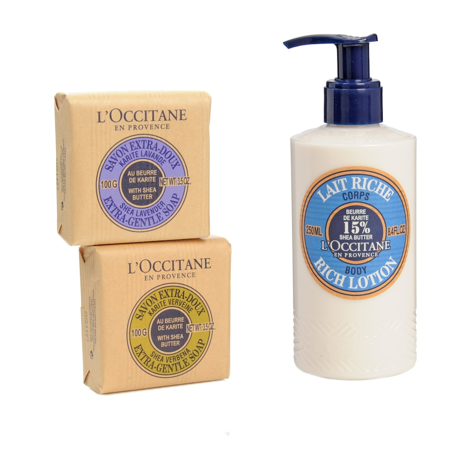 Image 481481.jpg , Product 481-481 / Price $56.00 , L'Occitane Shea Butter Back To Basics Trio from Body & Bath on TSC.ca's Beauty department