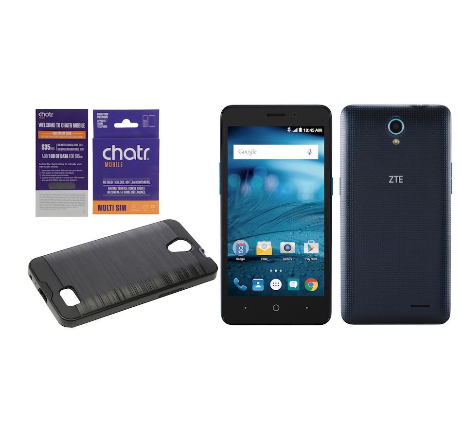 $50 Chatr Top-Up Card Talk, Text and Data with Chatr ZTE Z828 5