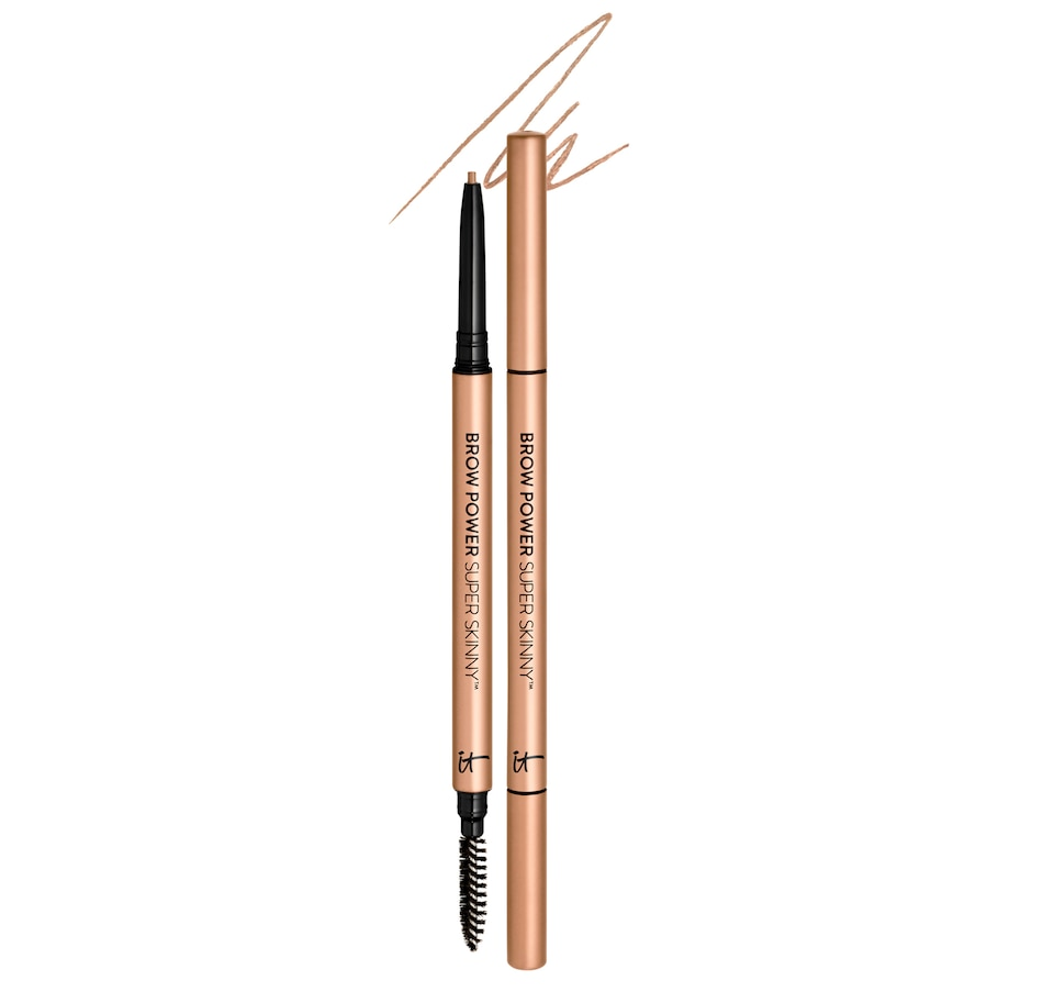 Image 482134_WRMBL.jpg , Product 482-134 / Price $42.00 , IT Cosmetics Super Skinny Brow Power Pencil Duo from Brows on TSC.ca's Beauty department