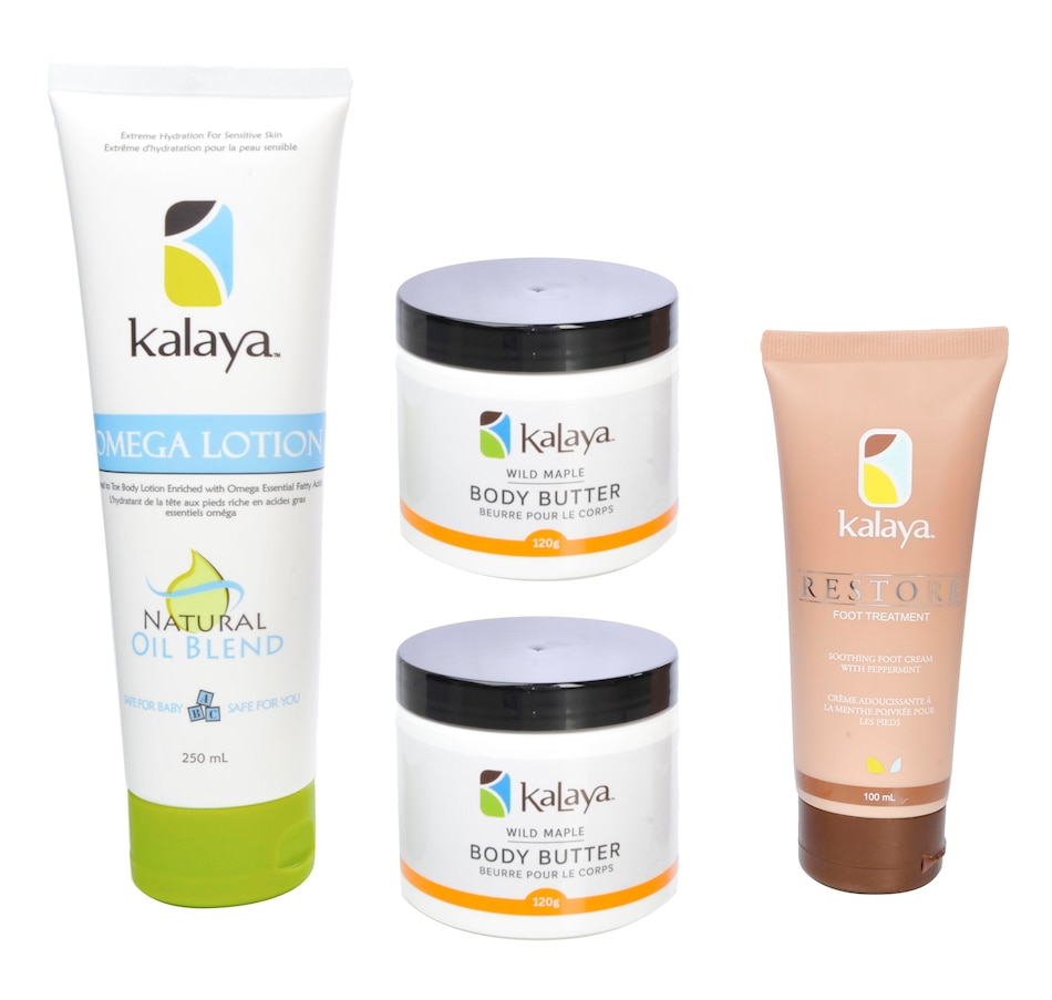 Image 482379.jpg , Product 482-379 / Price $54.50 , Kalaya Complete Body Kit from Kalaya on TSC.ca's Beauty department