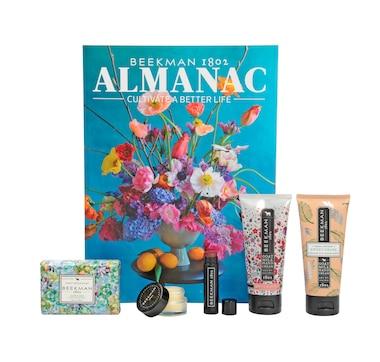 Beekman 1802 5-Piece Hand & Body Care Goat Milk Carton with Summer Almanac