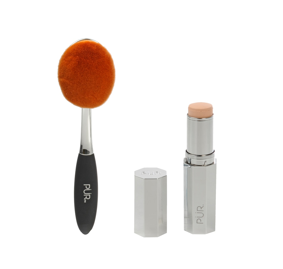 Image 482469_LIGPN.jpg , Product 482-469 / Price $49.00 , Pür 4-in-1 Foundation Stick with Brush from Pür Cosmetics on TSC.ca's Beauty department