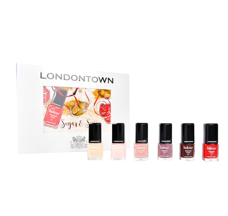 Image 482650.jpg , Product 482-650 / Price $42.00 , Londontown Sugar & Spice Nail Set from Londontown on TSC.ca's Beauty department