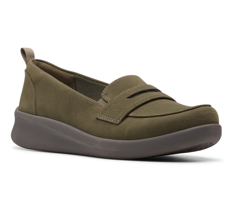Image 482880_KHA.jpg , Product 482-880 / Price $49.99 , Clarks Sillian Hope 2.0 Slip On Shoe from Clarks Footwear - Women on TSC.ca's Shoes & Handbags department