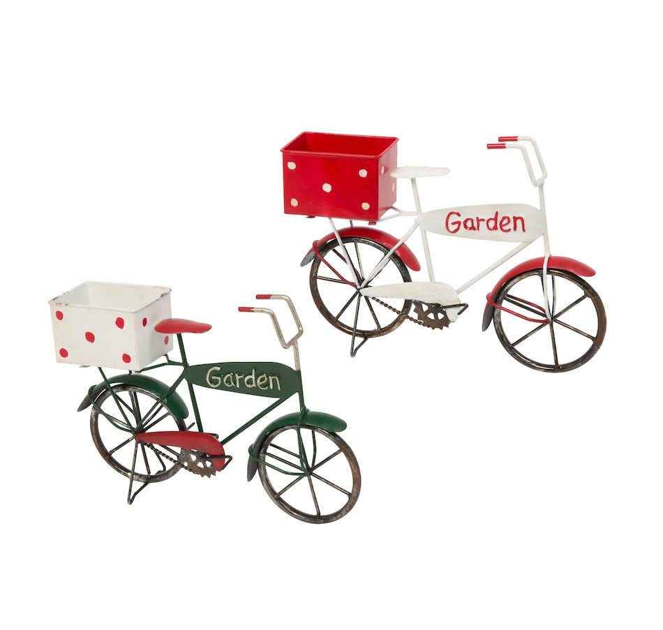 Image 483718.jpg , Product 483-718 / Price $27.33 , Metal Antique Garden Bicycle (2-Pack)  on TSC.ca's Home & Garden department