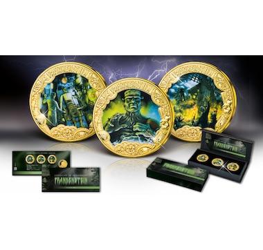 2019 Frankenstein $1 Three-Coin Set