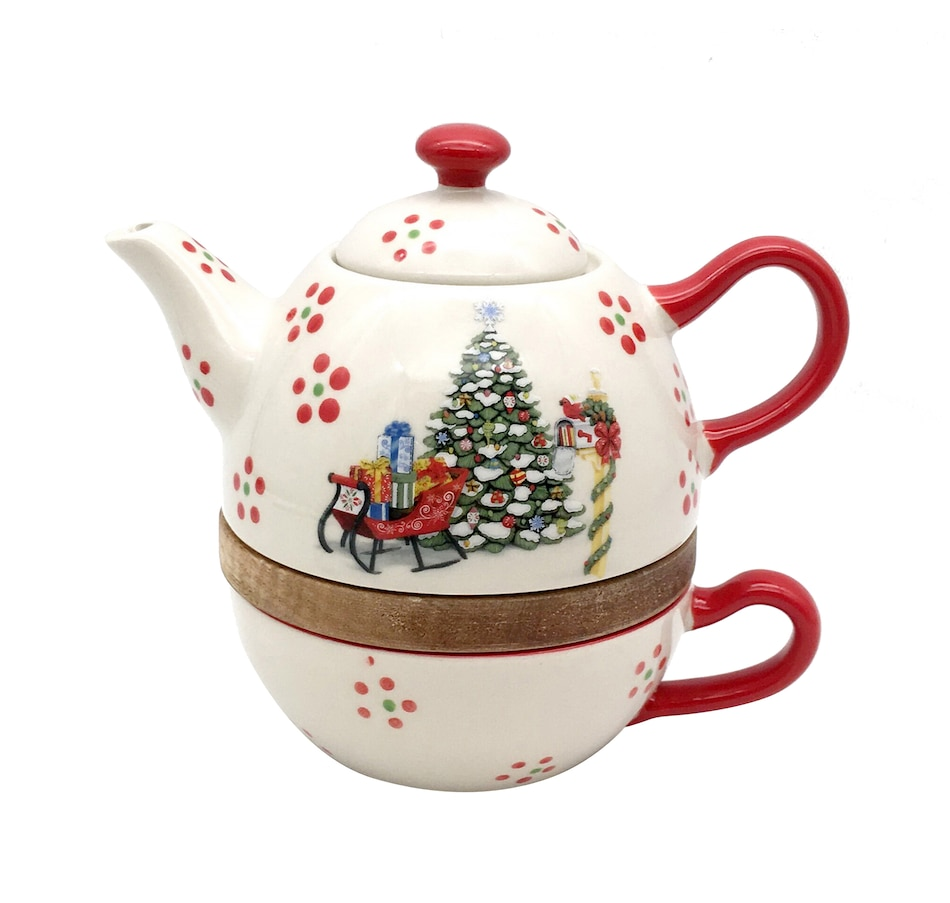 Image 483867.jpg , Product 483-867 / Price $29.99 , Temp-tations Holiday Tea for One from Temp-tations on TSC.ca's Kitchen department