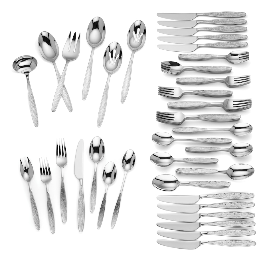 Image 483916.jpg , Product 483-916 / Price $349.99 , Lenox Lindfield 90-Piece Flatware Set from Lenox on TSC.ca's Kitchen department