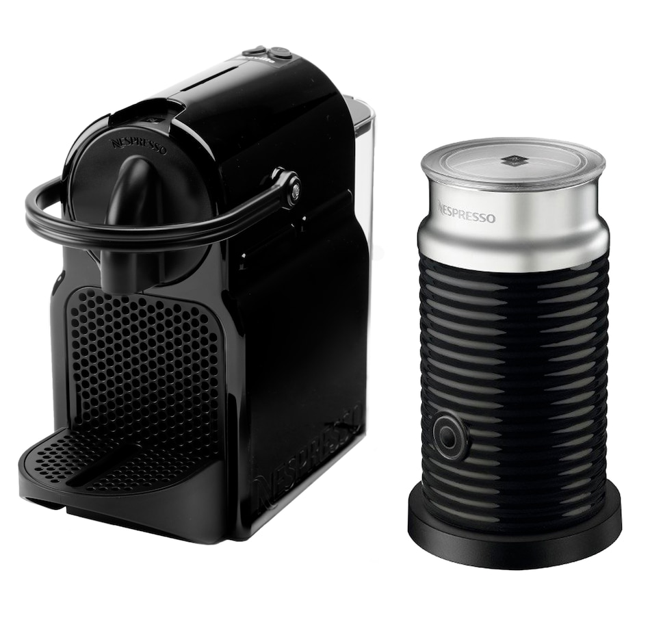 Image 483955_BLK.jpg , Product 483-955 / Price $174.99 , Nespresso Inissia Espresso Machine Bundle by De'Longhi from Nespresso on TSC.ca's Kitchen department
