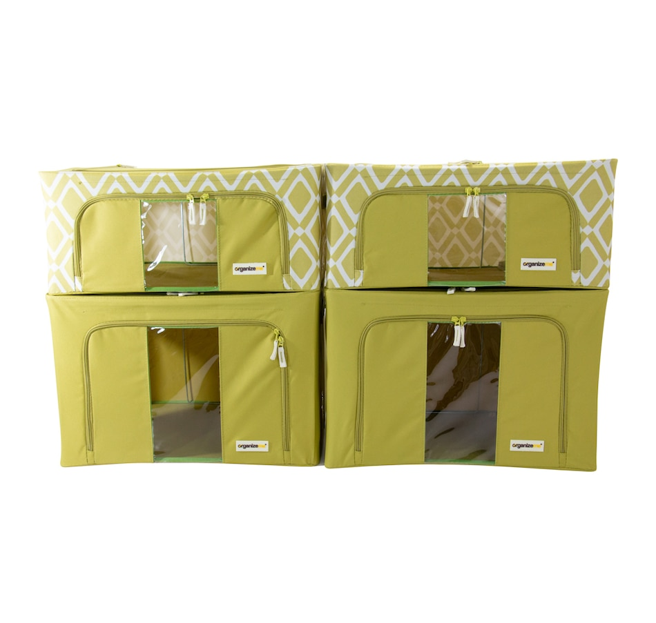 Image 483970_PIO.jpg , Product 483-970 / Price $69.99 , OrganizeMe Fashion Collapsible Cases (4-Pack) from Organizeme on TSC.ca's Home & Garden department