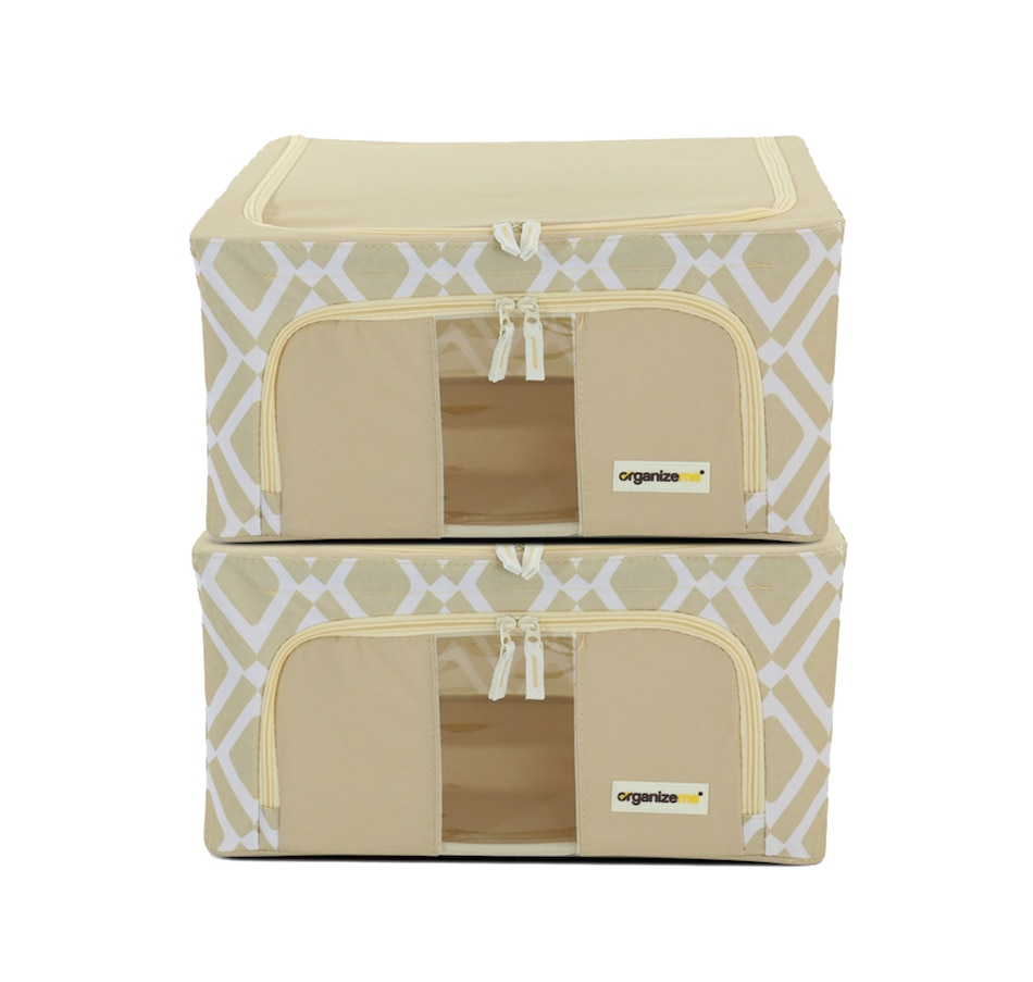 Image 483971_YLP.jpg , Product 483-971 / Price $39.99 , OrganizeMe Small Fashion Collapsible Cases (2-Pack) from Organizeme on TSC.ca's Home & Garden department