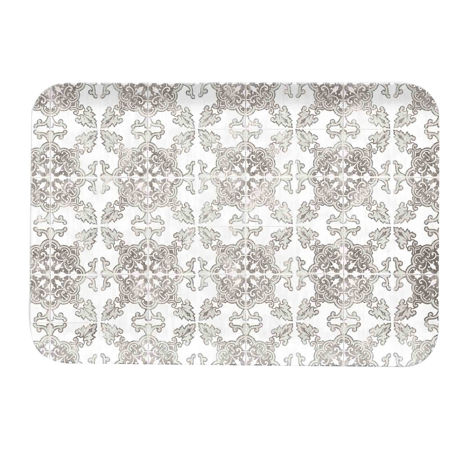 Image 483976.jpg , Product 483-976 / Price $24.33 , TarHong Portico Tile Grey Medium Matte Tray from TarHong on TSC.ca's Kitchen department