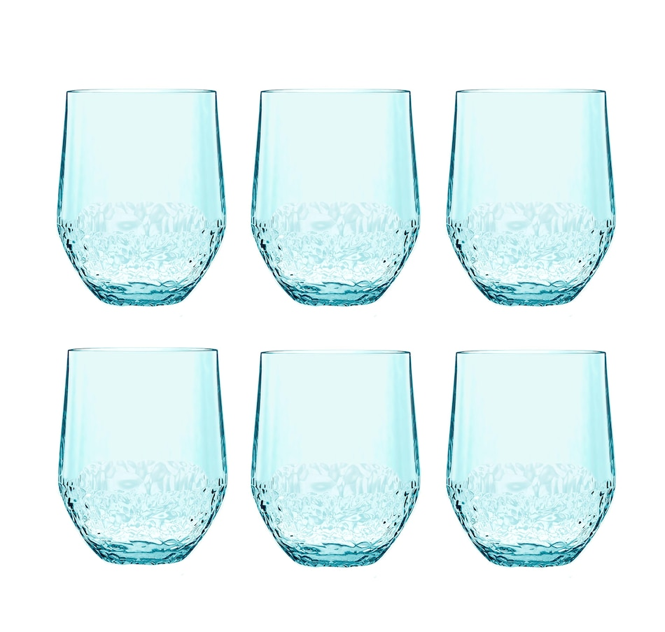 Image 484036.jpg , Product 484-036 / Price $54.33 , Tarhong Cube Stemless (Set of 6) from TarHong on TSC.ca's Home & Garden department