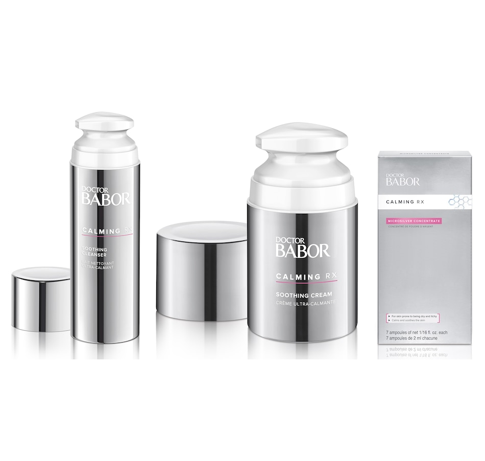 Image 484476.jpg , Product 484-476 / Price $174.00 , BABOR Doctor Babor Calming Rx Bundle - 60-Day Auto Delivery from Babor on TSC.ca's Beauty department