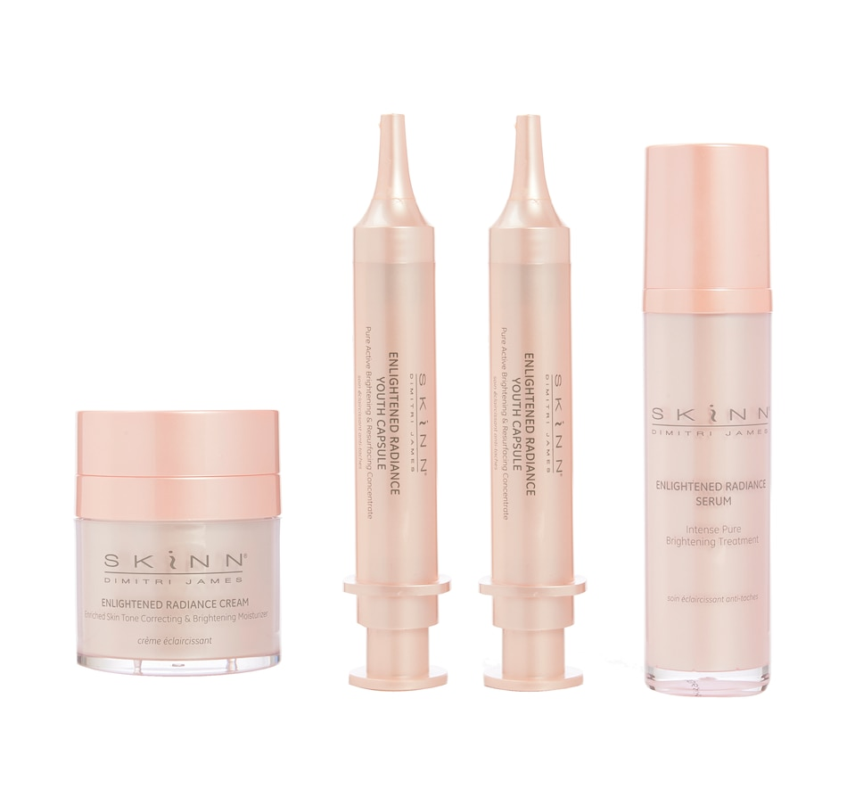 Image 484615.jpg , Product 484-615 / Price $69.99 , Auto-Delivery 60-Day SKINN Enlightened Radiance 4-Piece Collection from SKINN on TSC.ca's Beauty department