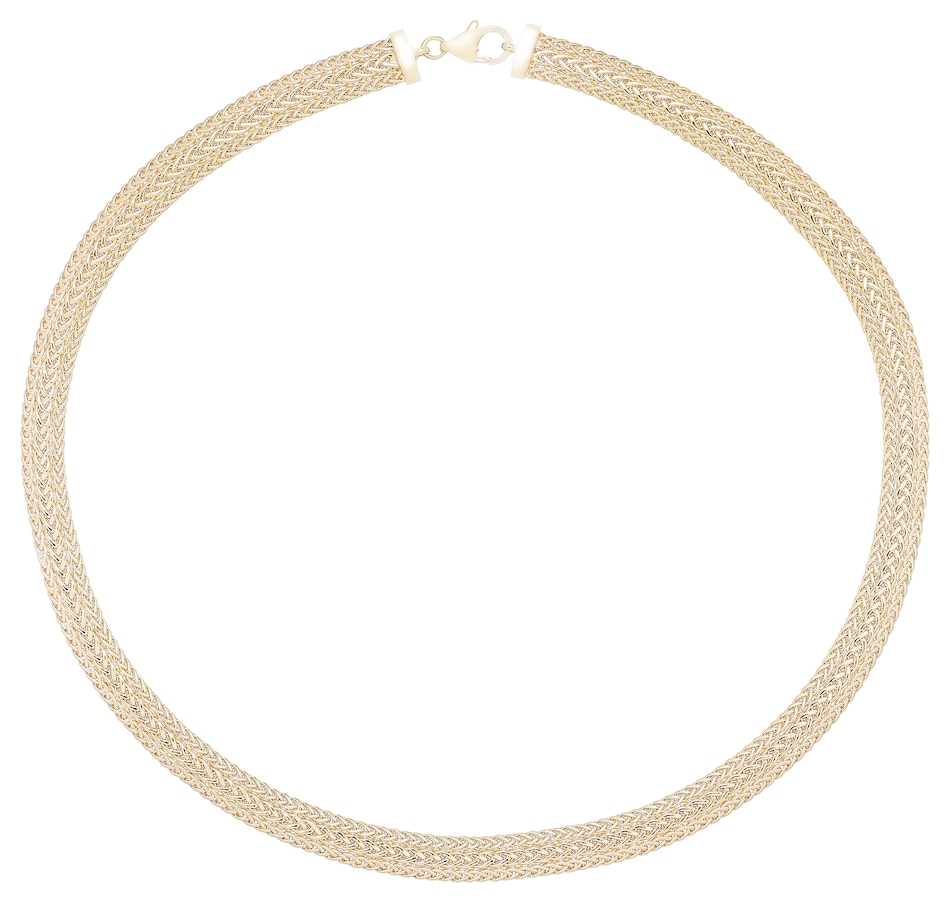 Image 484967.jpg , Product 484-967 / Price $1,699.99 , Stefano Oro 14K Yellow Gold Multi Strand Spiga Necklace from Stefano Oro on TSC.ca's Jewellery department