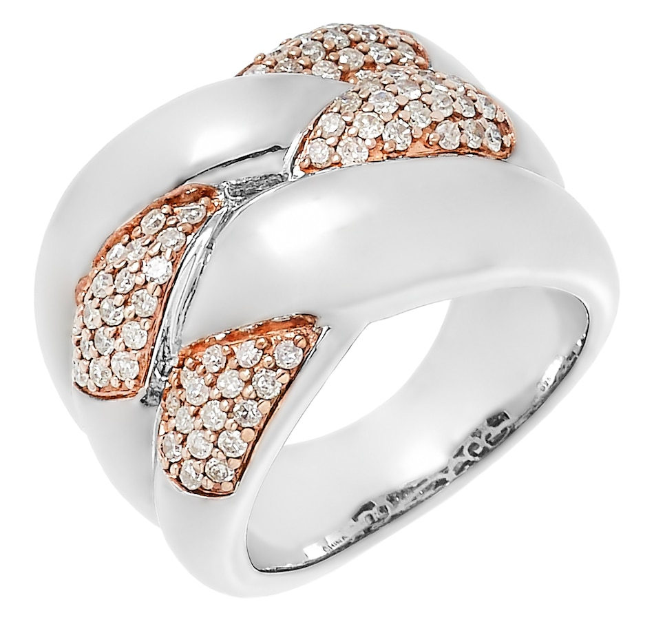 Image 485530.jpg , Product 485-530 / Price $389.99 , Colours of Diamonds Sterling Silver 0.50 ctw White Diamond Ring from Colours of Diamonds on TSC.ca's Jewellery department