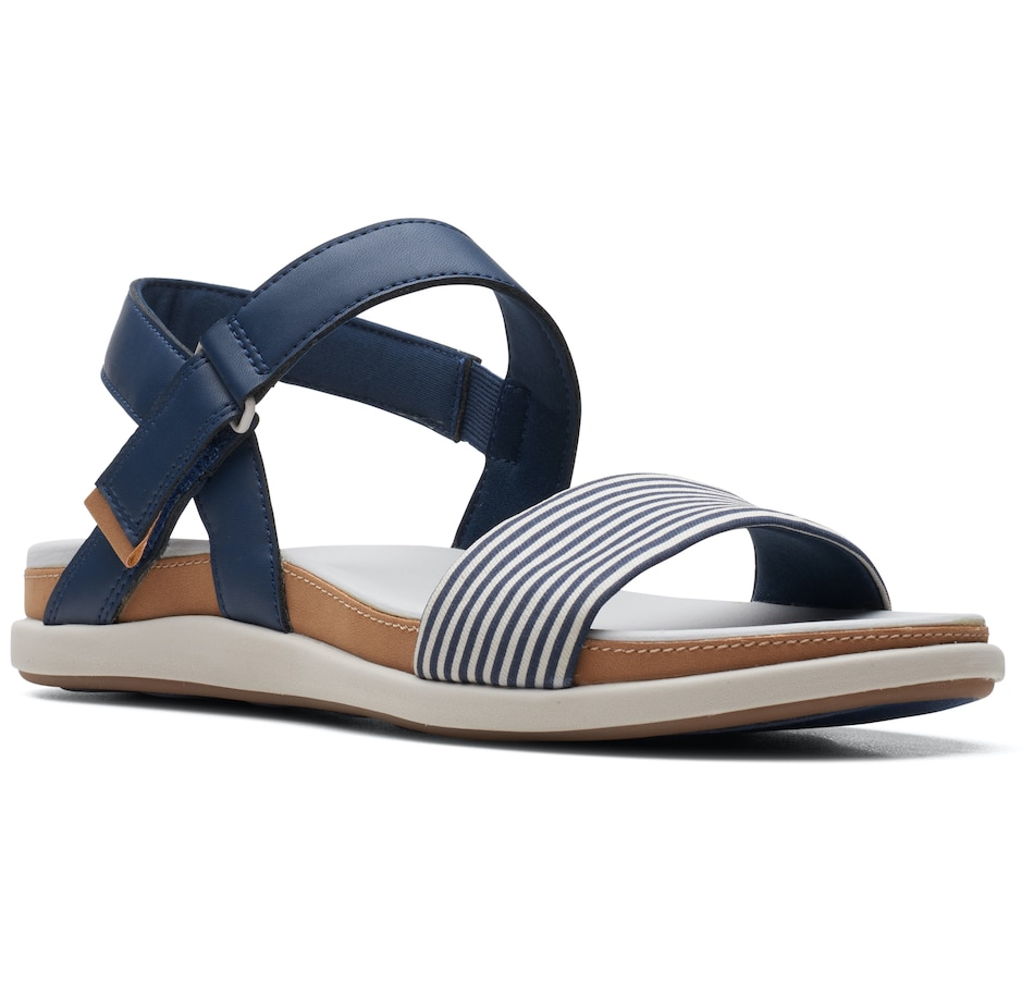 Image 485738_NVY.jpg , Product 485-738 / Price $49.33 , Clarks Eliza Mae Sandal from Clarks Footwear on TSC.ca's Clothing & Shoes department