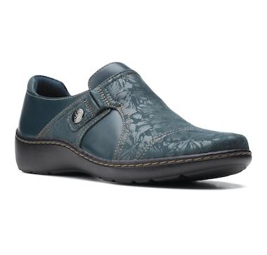 Clarks Cora Poppy Slip On Shoe
