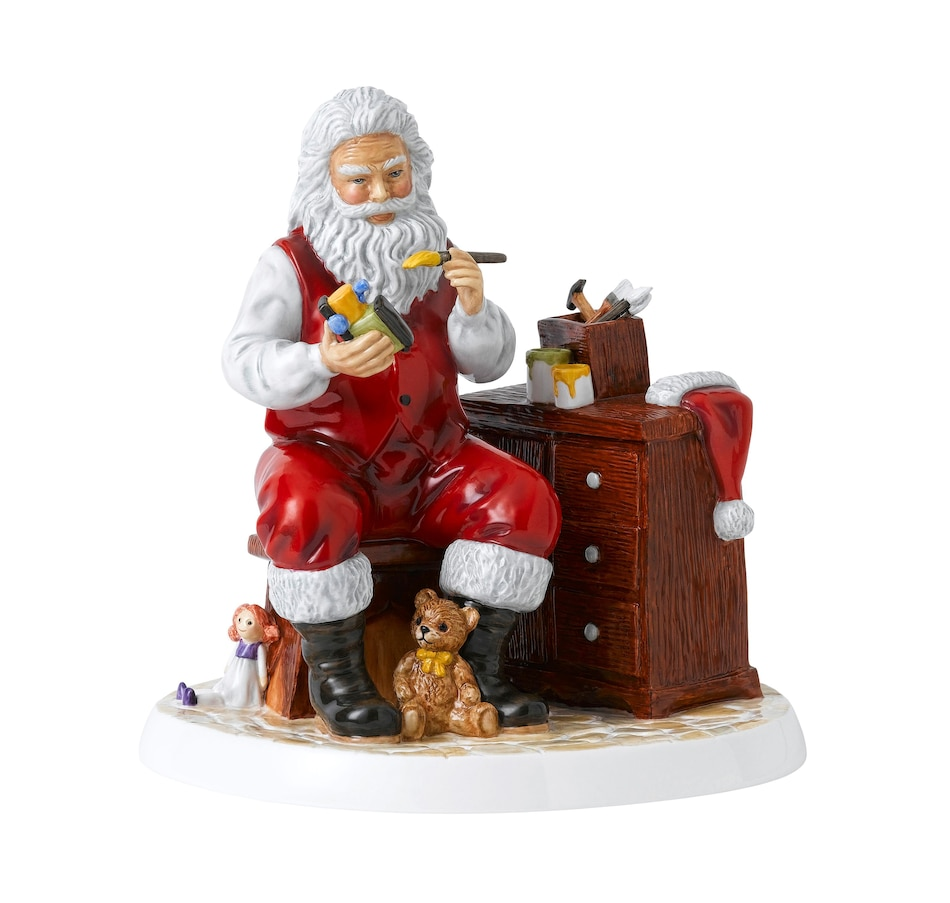 """Image 486658.jpg , Product 486-658 / Price $296.00 , Royal Doulton Santa's Workshop 8.3"""" from Royal Doulton Figurines on TSC.ca's Holiday Gift Shop department"""
