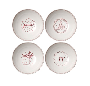 "Ellen Degeneres Holiday Cereal Bowl 8"" (Set of 4)"