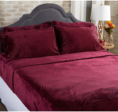 HomeSuite Mink 6-Piece Sheet Set
