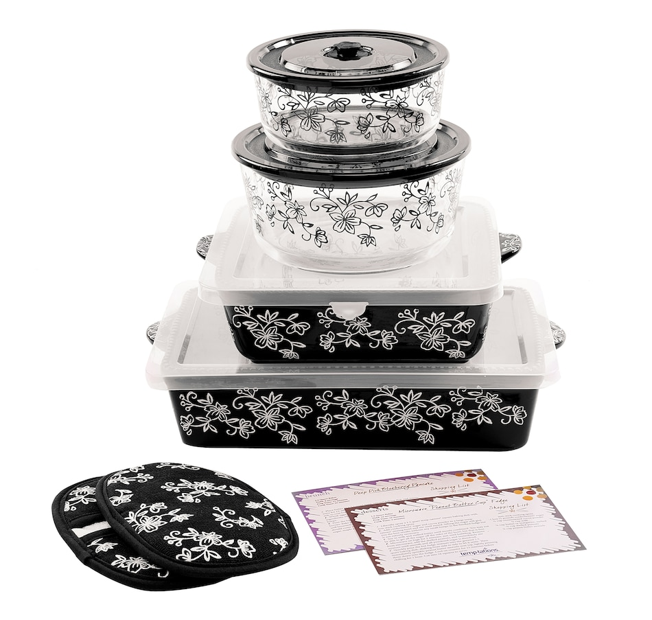 Image 486811_FLBLK.jpg , Product 486-811 / Price $59.99 , temp-tations Baker's Bundle from Temp-tations on TSC.ca's Kitchen department