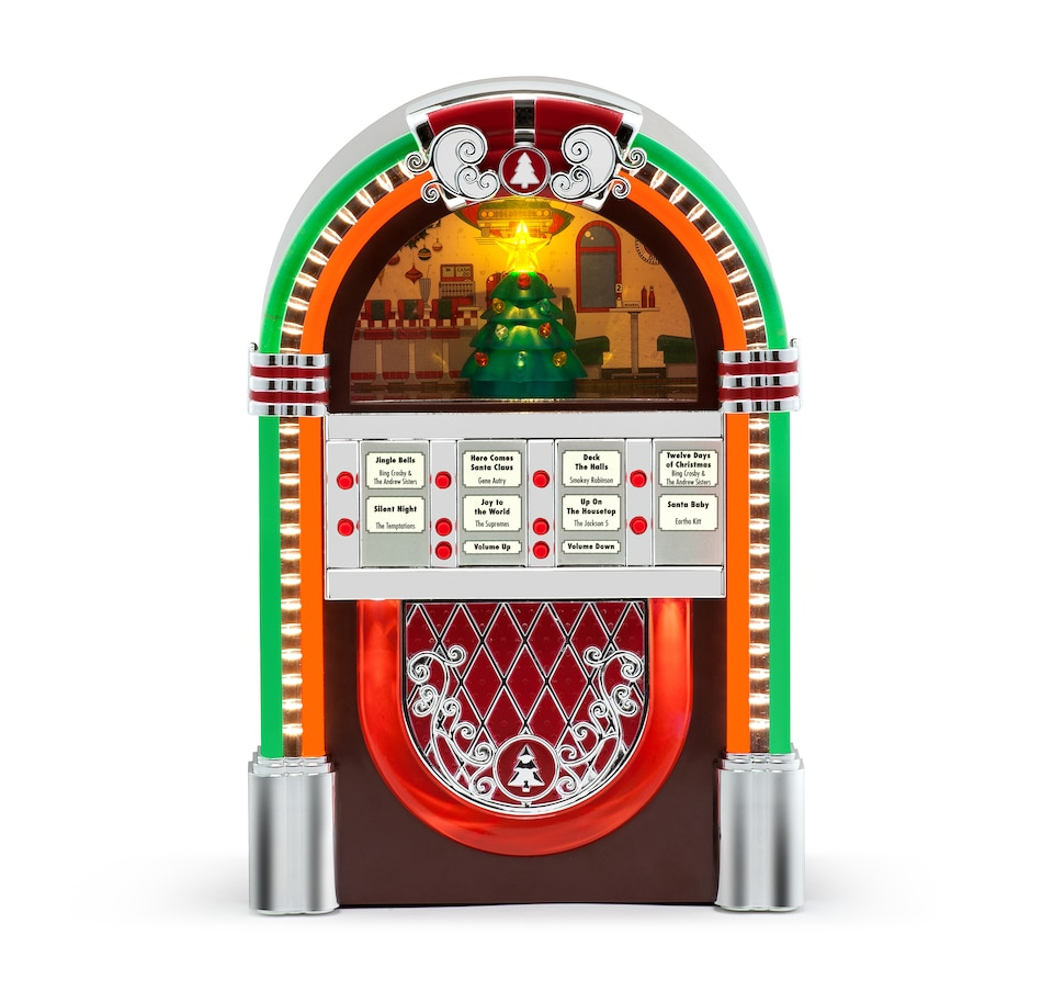 Image 486876.jpg , Product 486-876 / Price $59.99 , Mr. Christmas Vintage Jukebox from Mr. Christmas on TSC.ca's Home & Garden department