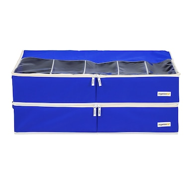 OrganizeMe Underbed Collapsible Case - 2-Pack