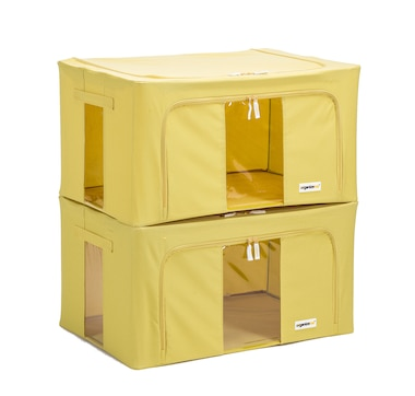 OrganizeMe XL Collapsible Storage Cases - 2-Pack